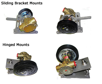Sliding Bracket or Hinged Mounts